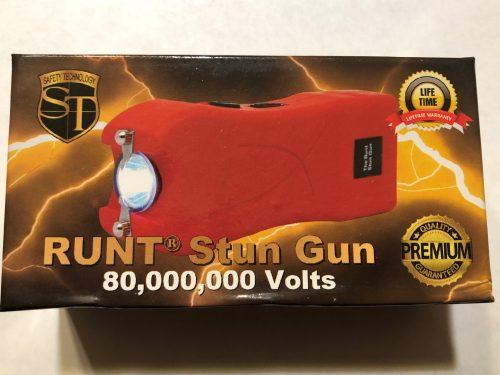 Runt 80 million volt stun gun red box