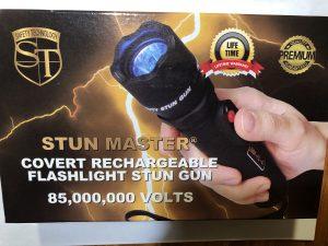 85 million volt stun gun mobile charger box