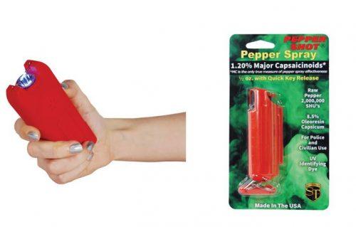 Stun gun and pepper spray kit