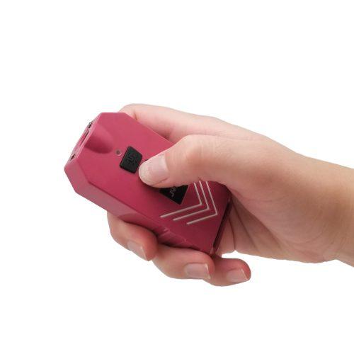 Pink 4-n-1 charger stun gun