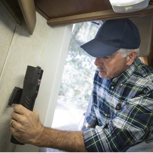 PepperBall LifeLite Wall mount in RV ThugBusters