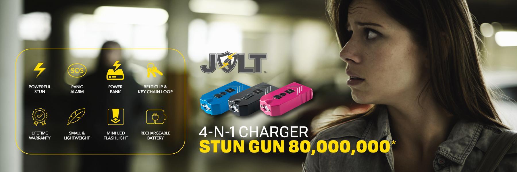 ThugBusters Jolt 4-in-1 Charger Stun gun