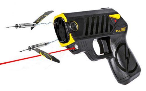TASER Pulse shooting darts
