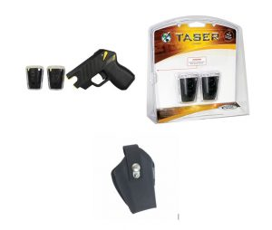 TASER Pulse, nylon holster and cartridge bundle