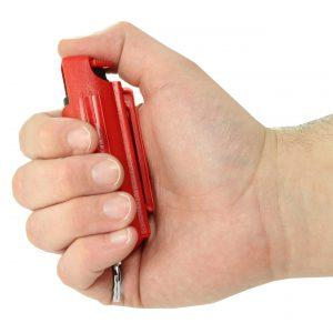 Streetwise 18 red pepper spray in handv