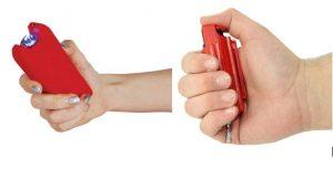 Red Pepper Spray Stun Gun Combo