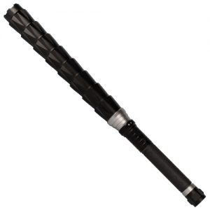 ThugBusters Bouncer stun gun flashlight baton upward