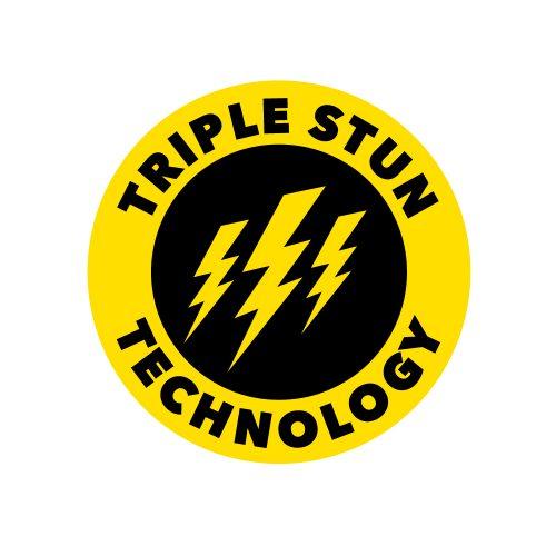 Attitude Adjuster Stun Baton Triple Stun Technology