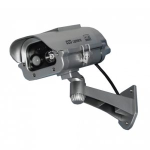 Solar Powered motion detecting dummy camera