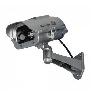 Solar Powered motion detecting dummy camera