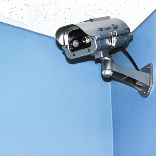 Solar Powered Dummy Camera used indoors