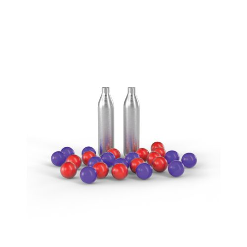 Pepperball Refill Kit with live rounds