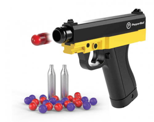 PepperBall TCP with SD rounds