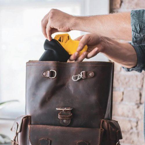 Thugbusters Taser Pulse Plus Yellow Women's Handbag