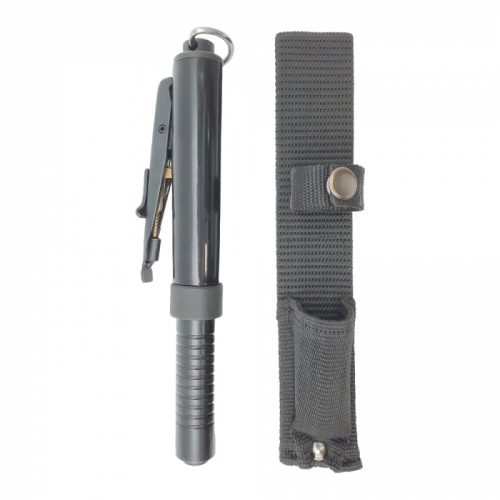 21 inch automatic steel baton with holster ThugBusters