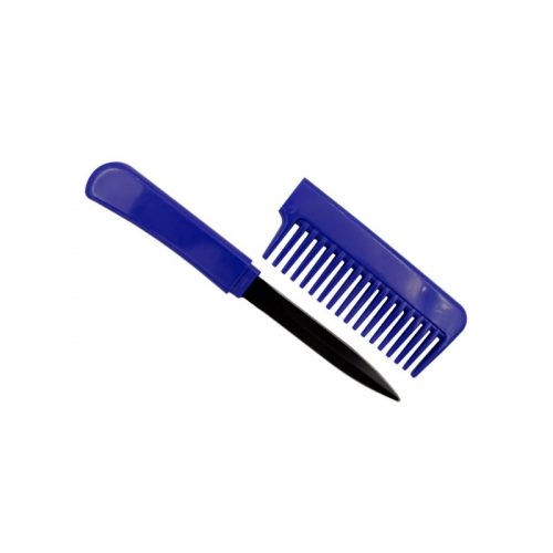 ThugBusters Comb Knife Open-Blue
