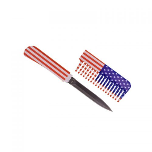 ThugBusters Comb Knife Open-USA Flag