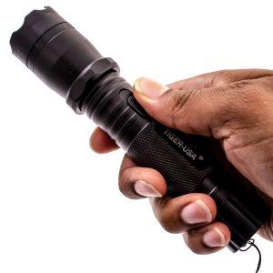 Thugbusters Omega Flashlight Stun Gun Hand