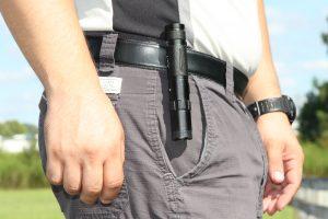 ThugBusters Jolt 75 Tactical Stun Flashlight belt