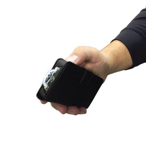 ThugBusters JUSTinCASE stun gun USB charger flashlight hand