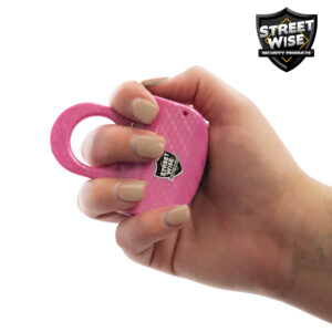 ThugBusters HydroDipped sting Ring Pink hand 3