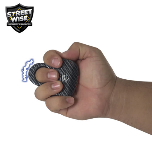 ThugBusters HydroDipped sting Ring hydrocarbon black