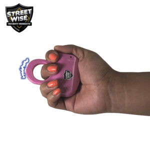ThugBusters HydroDipped sting Ring Pink hand 2