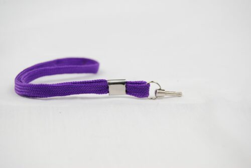 hugBusters Stun Gun Taser Safety Pin Purple