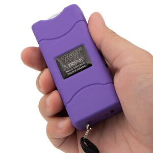 ThugBusters Tiny Quantum Stun Gun Purple NY