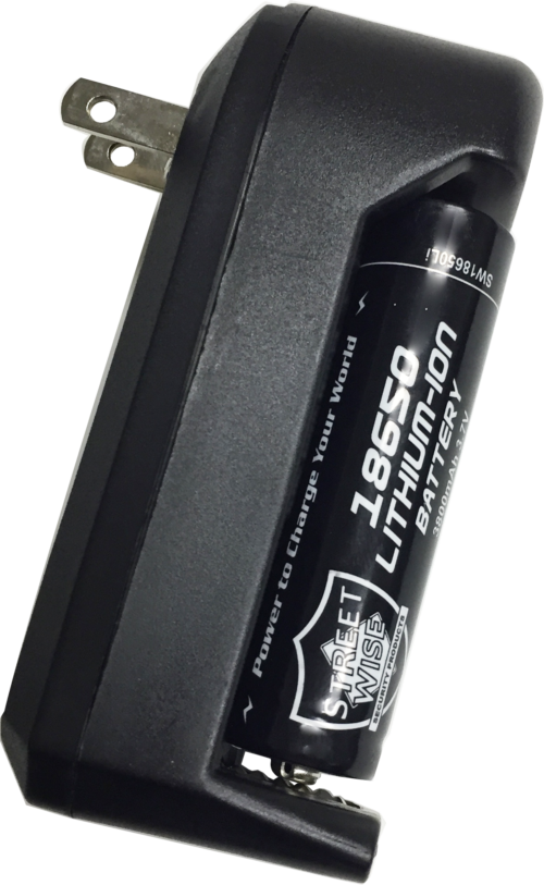 Police Force L2 Tactical Flashlight charger W battery