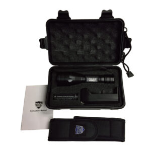 Police Force L2 Tactical Flashlight contents Galore